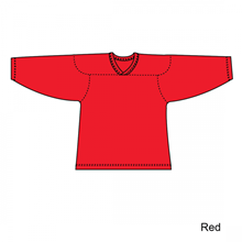 Kamazu FlexxICE Classic 10200 Red Junior Hockey Jersey - PSH Sports