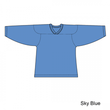Kamazu FlexxICE Classic 10200 Sky Blue Junior Hockey Jersey - PSH Sports