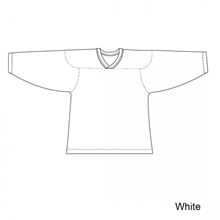 Kamazu FlexxICE Classic 10100 White Adult Hockey Jersey - PSH Sports