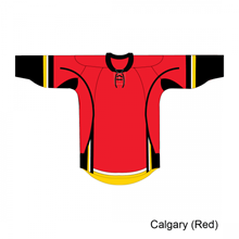 Kamazu FlexxICE 20100 Calgary Flames TEAM Adult Hockey Jersey - PSH Sports - 1
