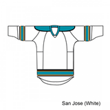 Kamazu FlexxICE 20100 San Jose Sharks TEAM Adult Hockey Jersey - PSH Sports - 2