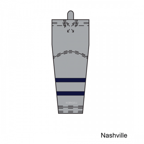 Kamazu FlexxIce Lite SK140 Nashville Predators Ice Hockey Socks - PSH Sports