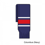 Kamazu FlexxICE SK200 Columbus Blue Jackets Team Knit Ice Hockey Socks - Home Navy