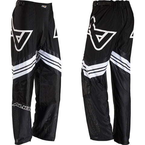 Image of Alkali RPD Lite+ Inline Hockey Pants - Senior - Black/White - PSH Sports - 1