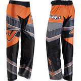 Alkali RPD Team+ Inline Hockey Pants - Junior - Black/Orange STRIPE - PSH Sports - 1