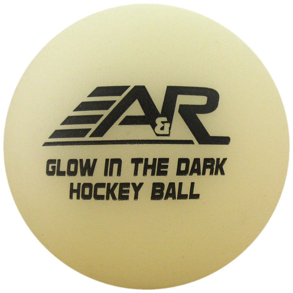 A&R Glow in the Dark Hockey Ball - PSH Sports