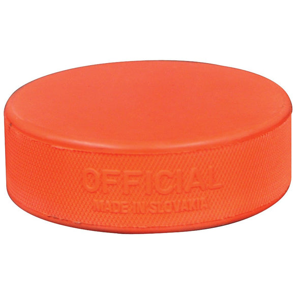 Orange Weighted Ice Hockey Training Puck - PSH Sports