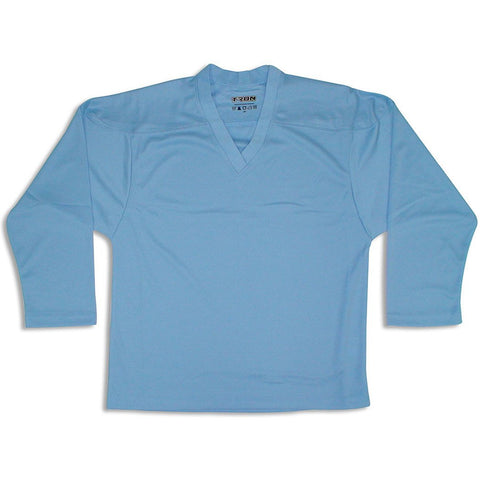 Tron DJ100 Sky Blue Dry Fit Hockey Jersey - PSH Sports