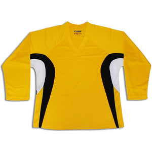 Tron DJ200 Gold Dry Fit Practice Hockey Jersey - PSH Sports
