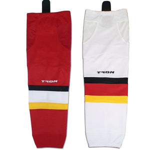 Tron SK300 Dry Fit Ice Hockey Socks - Calgary Flames - PSH Sports
