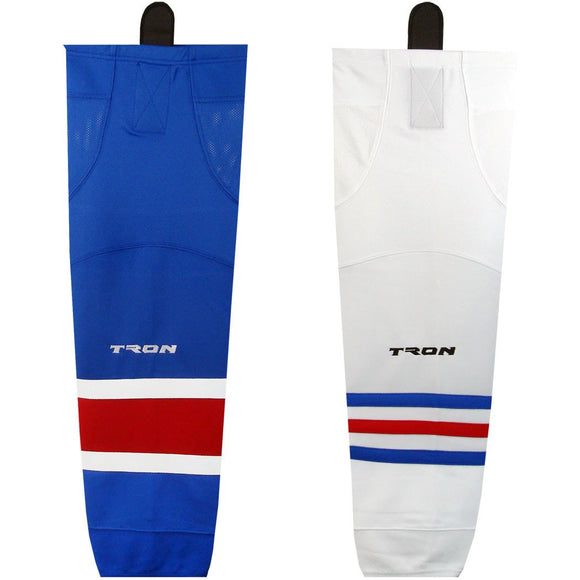 Tron SK300 Dry Fit Ice Hockey Socks - New York Rangers - PSH Sports