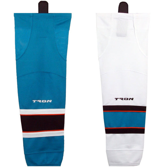 Tron SK300 Dry Fit Ice Hockey Socks - San Jose Sharks - PSH Sports