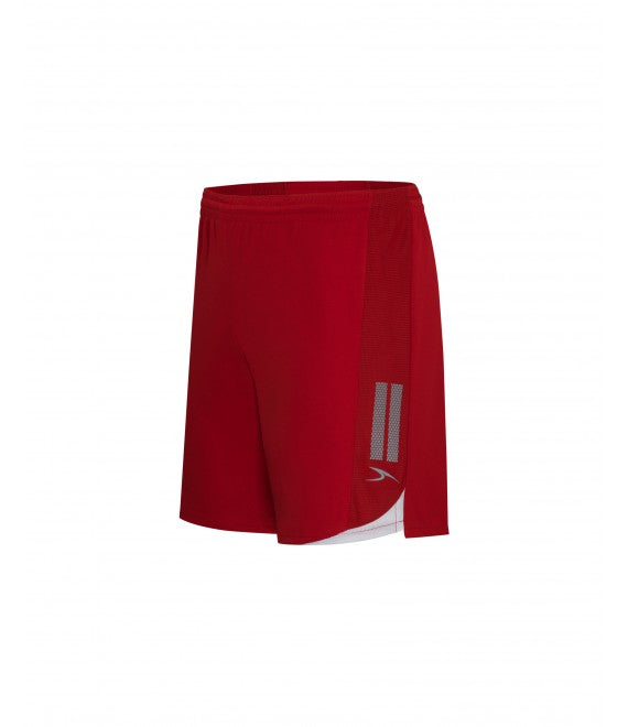 Score Sports Madrid 115A Red/White Shorts