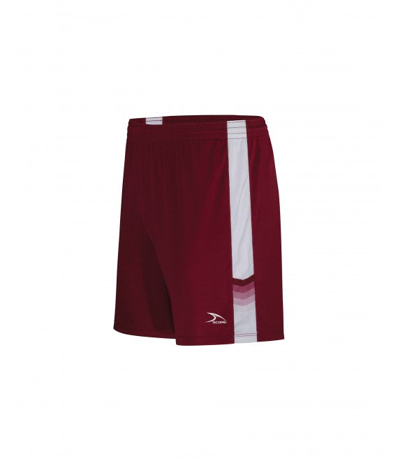Score Sports Houston 125A Burgundy/White Men's Shorts