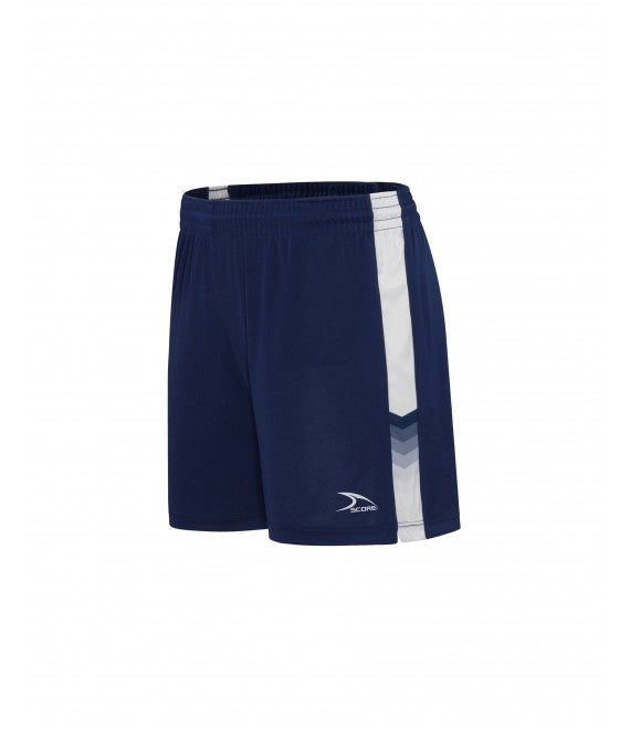 Score Sports Houston 126A Navy/White Women's Shorts