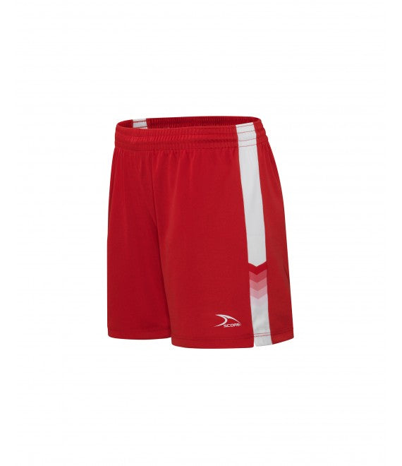 Score Sports Houston 126A Red/White Women's Shorts