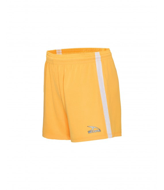 Score Sports Dublin 156A Gold/White Women's Shorts