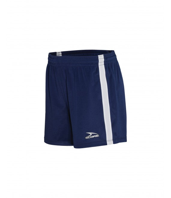 Score Sports Dublin 156A Navy/White Women's Shorts
