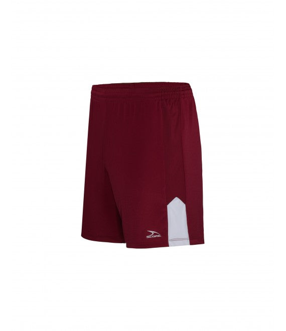 Score Sports Amsterdam 170A Burgundy/White Shorts