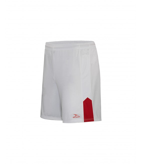 Score Sports Amsterdam 170A White/Red Shorts