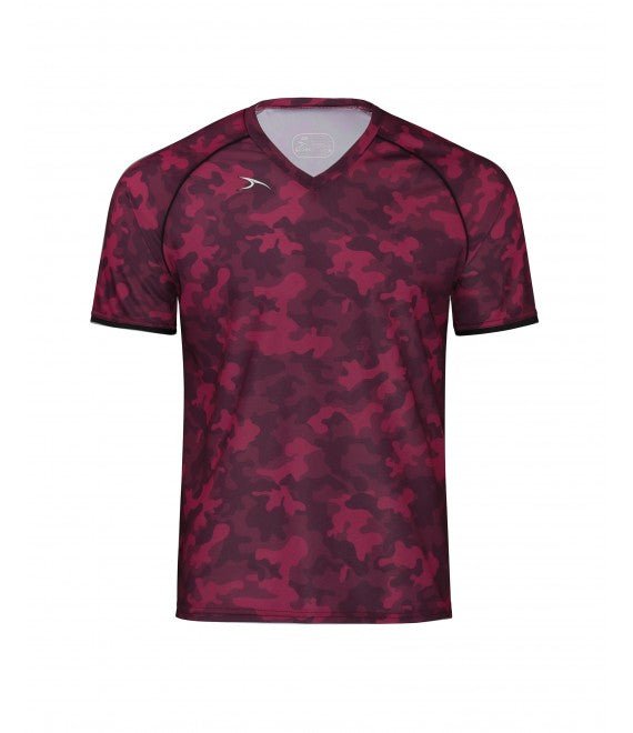 Score Sports Camo USA 220 Burgundy/Black Jersey
