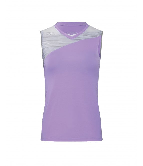 Score Sports Stockholm 251 Lavender/Silver Ladies Softball Jersey