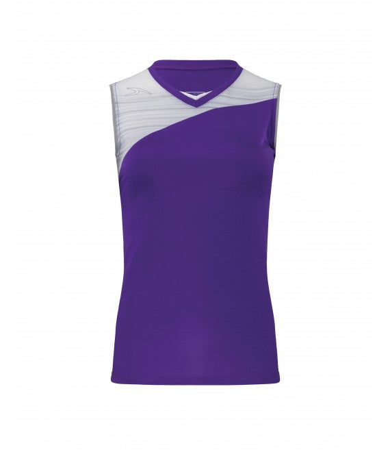 Score Sports Stockholm 251 Purple/Silver Ladies Softball Jersey