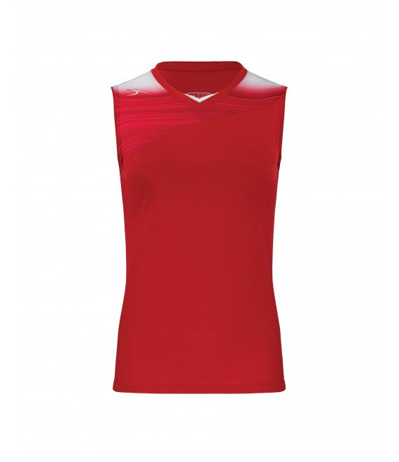 Score Sports Stockholm 251 Red/Red Ladies Softball Jersey
