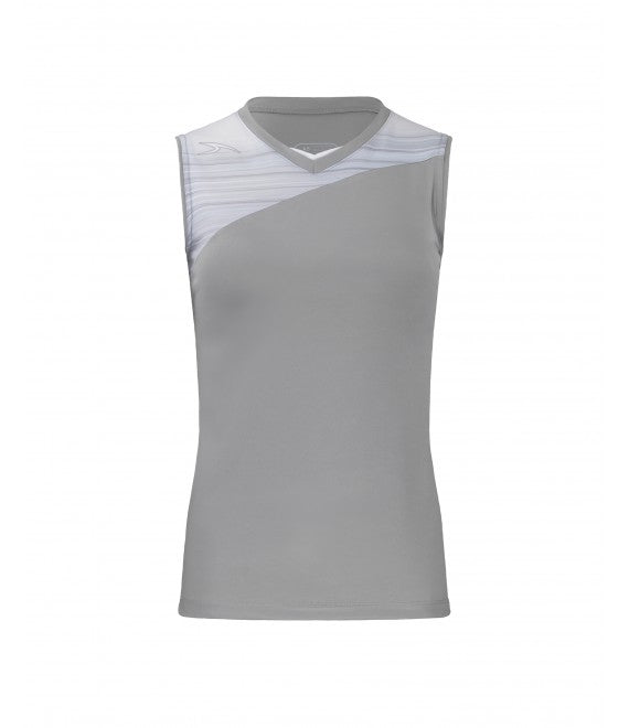 Score Sports Stockholm 251 Silver/Silver Ladies Softball Jersey