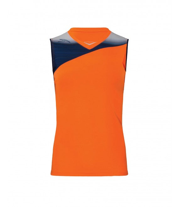 Score Sports Stockholm 251 Tangerine/Navy Ladies Softball Jersey