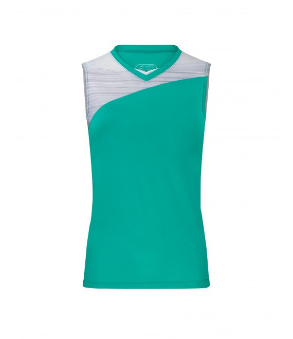 Score Sports Stockholm 251 Teal/Silver Ladies Softball Jersey