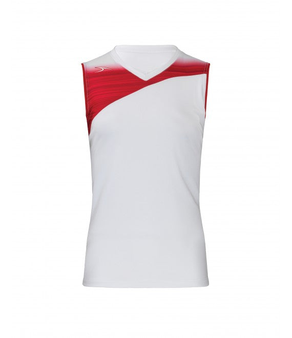 Score Sports Stockholm 251 White/Red Ladies Softball Jersey