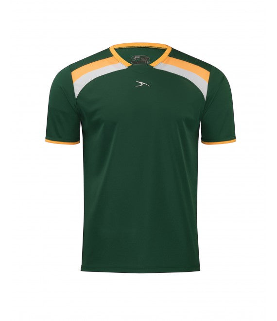 Score Sports Belgium 278 Hunter Green/Gold/White Soccer Jersey