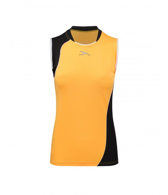 Score Sports Versailles 296 Gold/Black Ladies Baseball Jersey