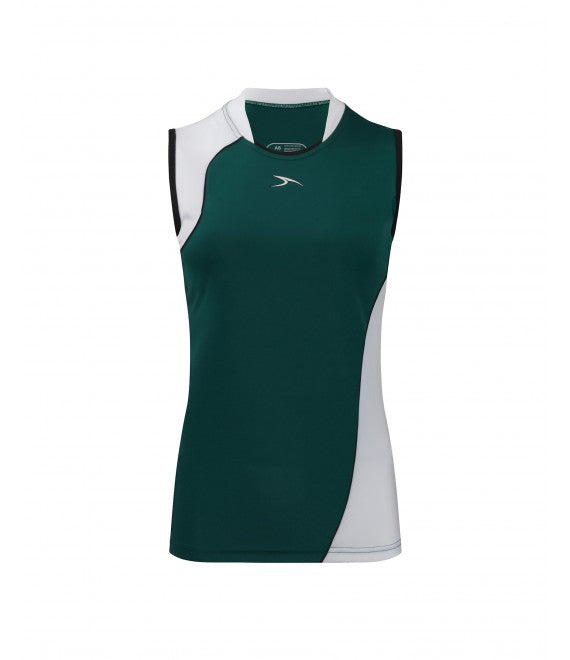 Score Sports Versailles 296 Hunter Green/White Ladies Baseball Jersey