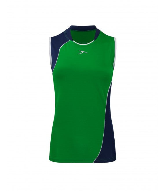 Score Sports Versailles 296 Kelly Green/Navy Ladies Baseball Jersey