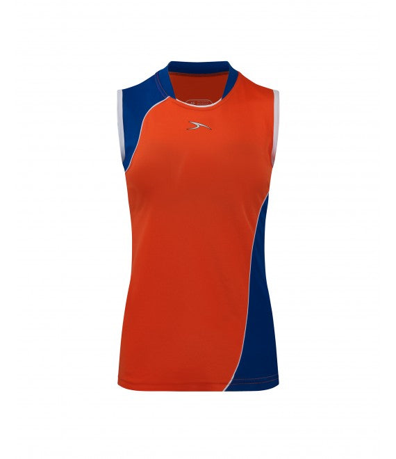 Score Sports Versailles 296 Orange/Royal Blue Ladies Baseball Jersey