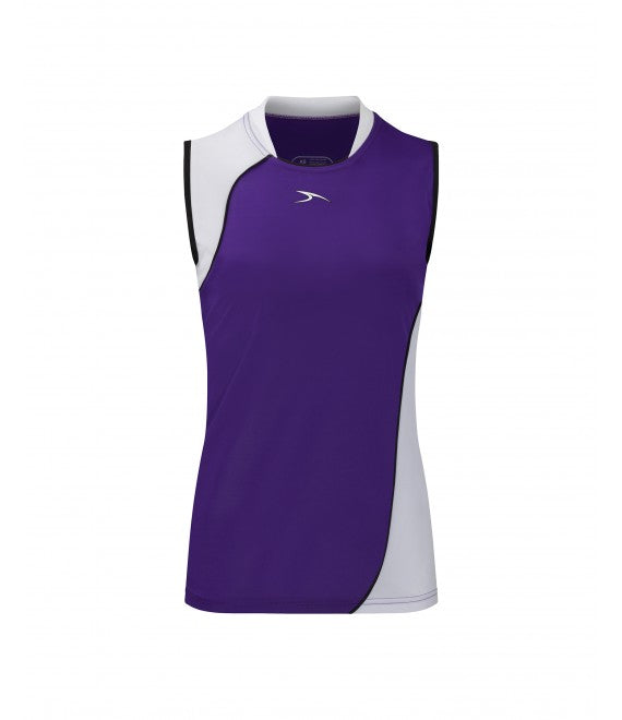 Score Sports Versailles 296 Purple/White Ladies Baseball Jersey