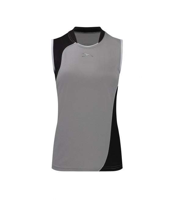Score Sports Versailles 296 Silver/Black Ladies Baseball Jersey