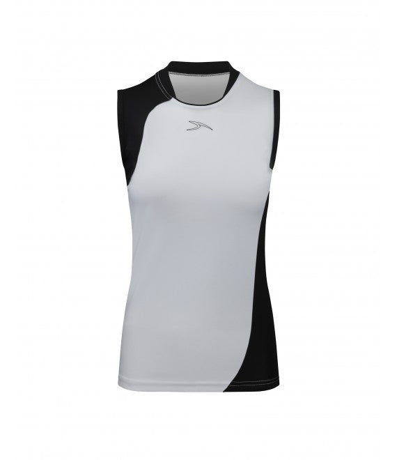 Score Sports Versailles 296 White/Black Ladies Baseball Jersey