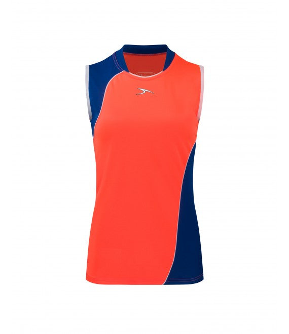 Score Sports Versailles 296 Watermelon/Royal Blue Ladies Baseball Jersey