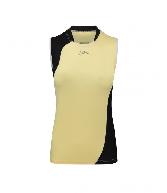 Score Sports Versailles 296 Yellow/Black Ladies Baseball Jersey