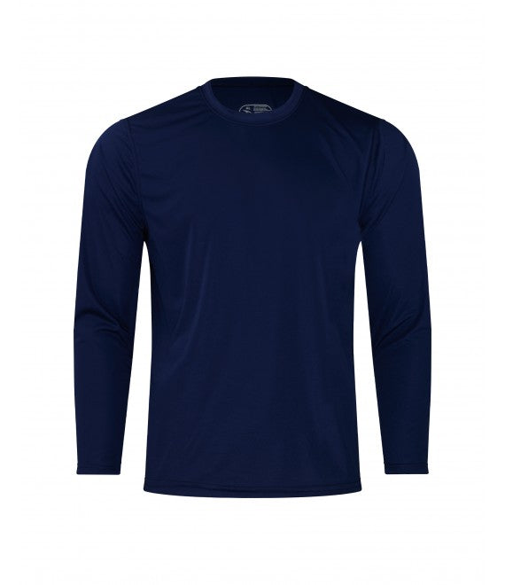 Score Sports 4220L Long Sleeve Navy Performance Tee