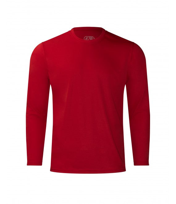 Score Sports 4220L Long Sleeve Red Performance Tee