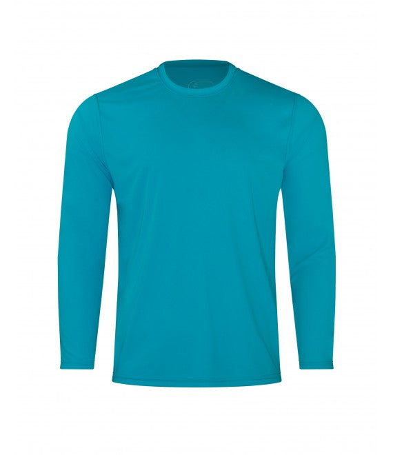 Score Sports 4220L Long Sleeve Teal Performance Tee