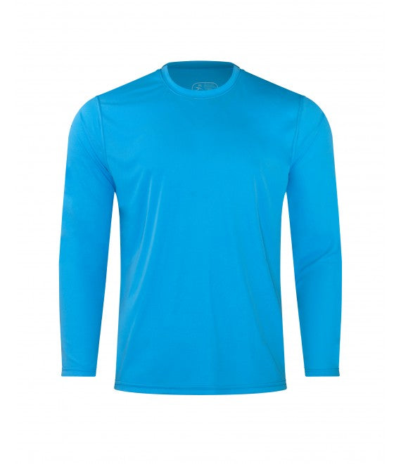 Score Sports 4220L Long Sleeve Turquoise Performance Tee