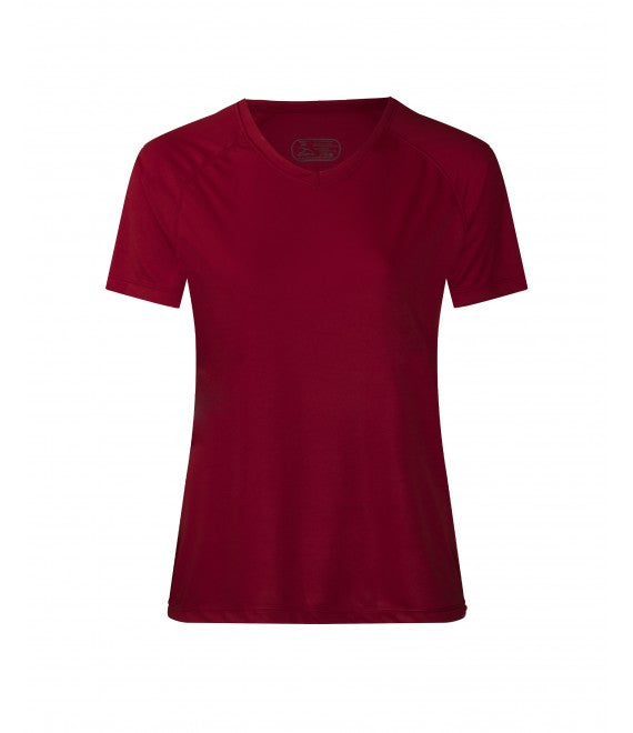Score Sports 4220W Women's Burgundy Performance Tee
