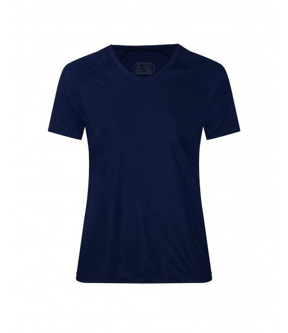Score Sports 4220W Women's Navy Performance Tee