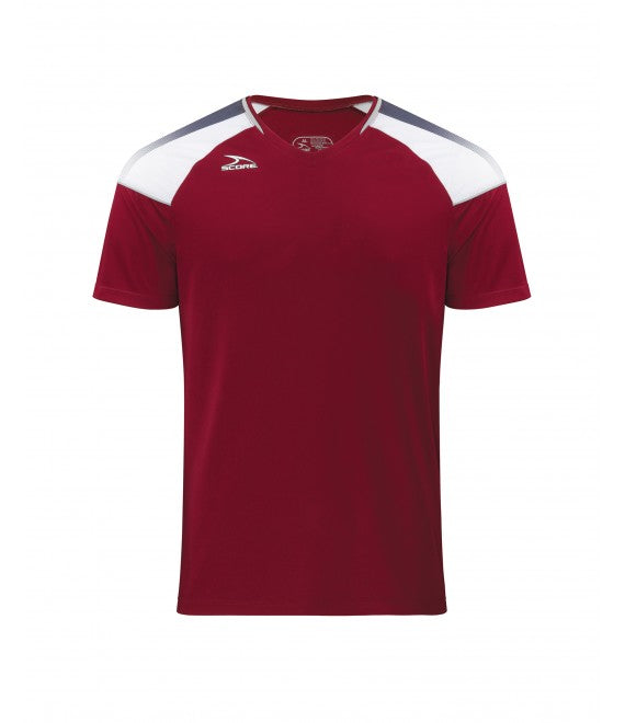 Score Sports Argentina 496 Burgundy/Charcoal Grey Jersey