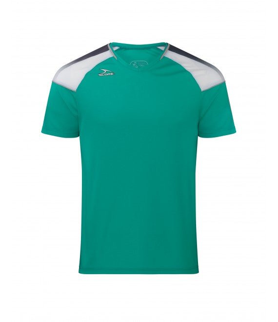 Score Sports Argentina 496 Teal/Charcoal Grey Jersey